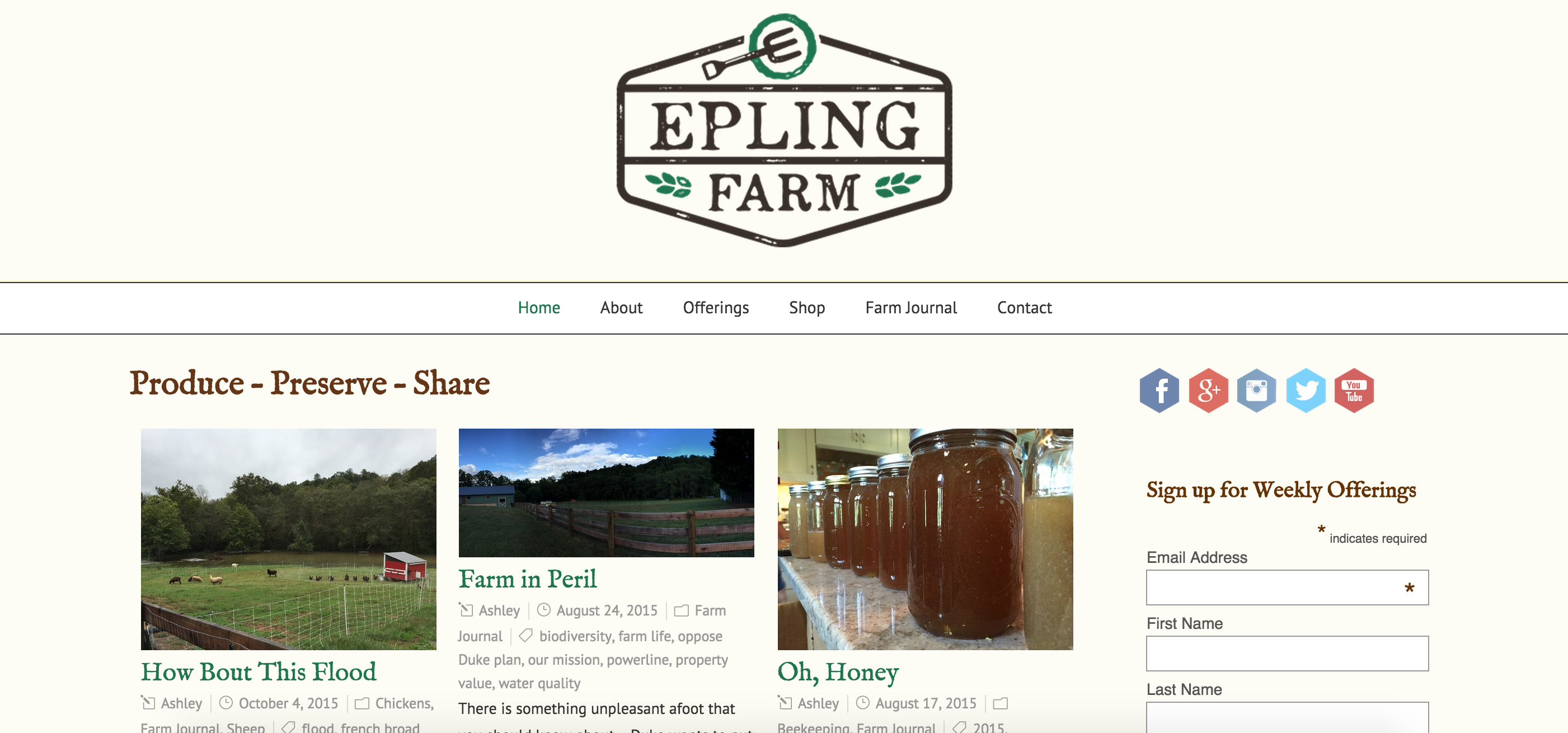 Epling Farm