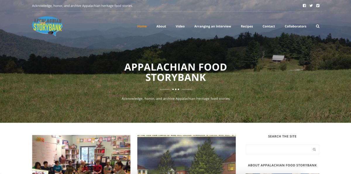 Appalachian Food Storybank Site